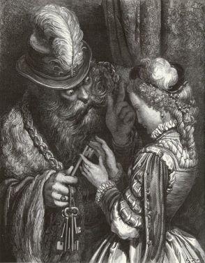 Bluebeard Gustav Dore