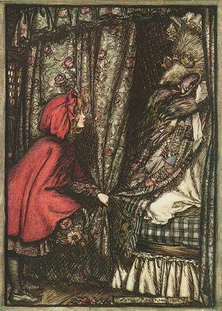 LIttle Red Riding Hood Arthur Rackham